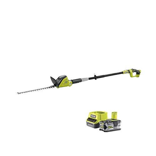 RYOBI Hedge Trimmer 18V OnePlus OPT1845-1 batería 5.0Ah - 1 cargador rápido 2.0Ah RC18120-150