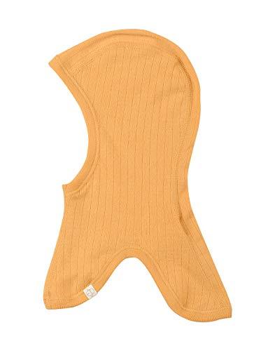 Dilling Schlupfmütze für Babys und Kinder aus 100% Bio-Merinowolle Gelb 80-92