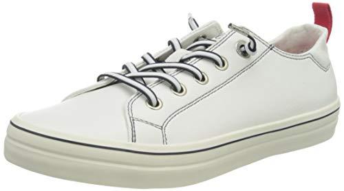 s.Oliver Damen 5-5-23618-24 Sneaker, Weiß (White/Navy 185), 37