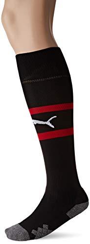PUMA Herren Team ACM Band Socks Stutzen, Black/Tango Red, 1