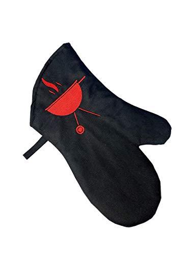 Keukenhandschoen voor oven Keuken oven gift beschermen handschoen BBQ en Keuken Handschoenen voor Keuken hete handschoenen zwart Hittebestendige Oven Wanten voor Barbecue Grilling Koken Bakken Veilig Koken Handschoenen FBA