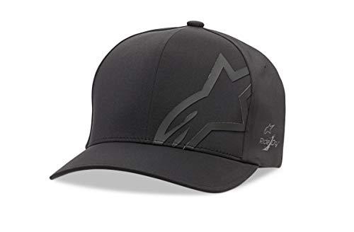Alpinestars Corp Shift Delta Hat Gorra de béisbol, Negro, S/M para Hombre