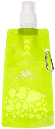 Trespass Hydromatic, Green, Faltbare Wiederverwendbare Trinkflasche 480ml, Grün