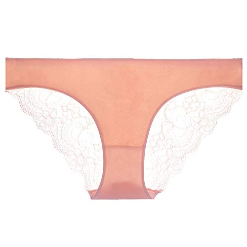 Women's Sexy Lace Panties Seamless Cotton Breathable Panty Hollow Briefs Plus Size Girl Underwear