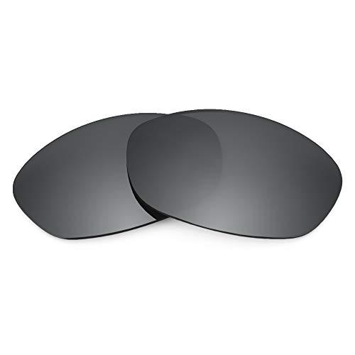 Revant Revant Ersatzgläser für Oakley Fives 2.0 - Kompatibel mit für Oakley Fives 2.0, Polarisiert, Schwarz Chrome MirrorShield