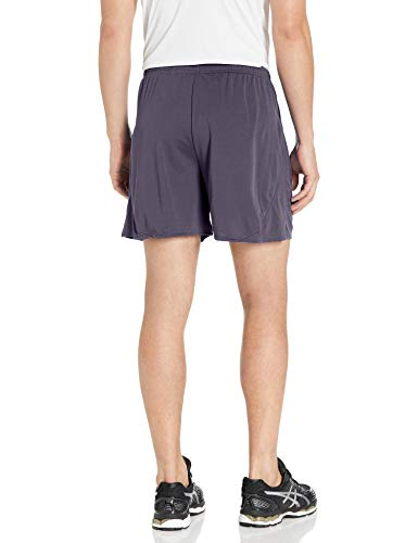 ASICS Men's Rival Ii Shorts, Steel Grey, Medium