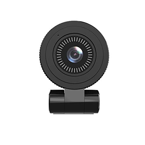 RYSF Webcam 4K Cámara Web con Enfoque automático y micrófono 800W Pixels Web CAM Cámara USB Red para computadora/PC/Laptop