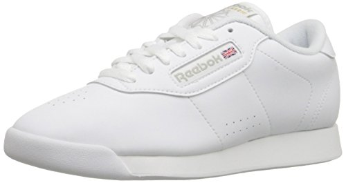 Reebok Women's Princess Aerobics Shoe,White, 8 M