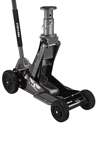 COOKE Pro Eagle 3 Ton Big Wheel Hydraulic Off Road Jack, for Lifted, 4WD, and Extreme Vehicles