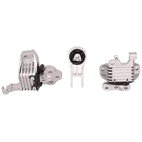 TOPAZ 3378 3308 3380 A5844 A5752 A5825 Complete Engine Motor & Trans Mount Set Replacement for Cherokee 2.4L 2014-2019