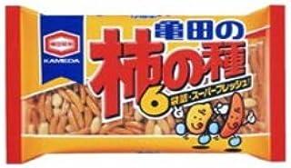 亀田の柿の種 6袋詰210g1箱12袋入