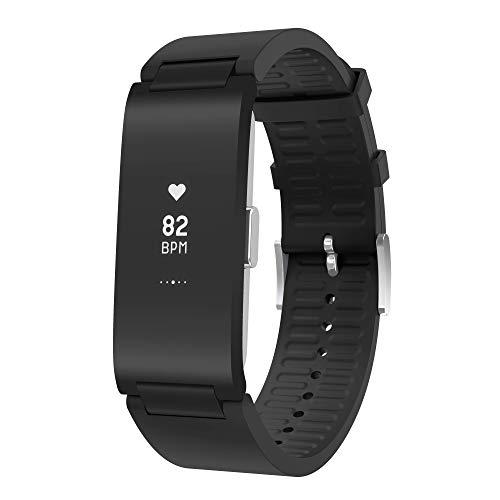 Withings Pulse HR Activity Tracker - Pulsera de Actividad para Adultos, 18 mm, Color Negro