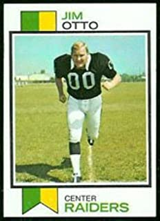 1973 Topps Regular (Football) Card# 461 Jim Otto of the Oakland Raiders VGX Condition