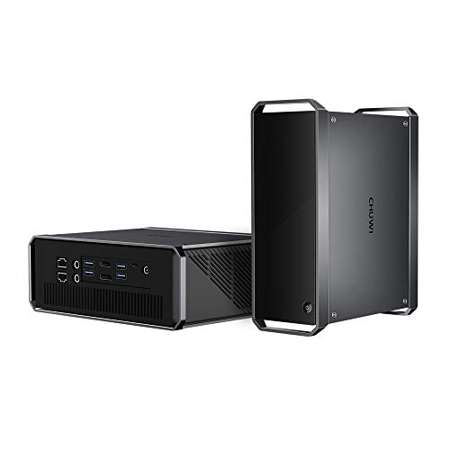 CHUWI CoreBox Pro Desktop Mini PC, 10th Gen Intel Core i3-1005G1, 12GB DDR4 256GB NVMe, Windows 10 Tower Computer Support 4K Video Decoding, Thunderbolt 3, 802.11ax Wi-Fi 6, BT5.1, Gigabit Ethernet
