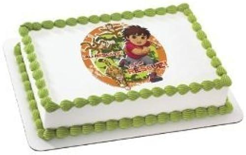 nueva gama alta exclusiva Go Diego Go Edible Cake Cake Cake Topper Decoration by A Birthday Place  ventas en linea