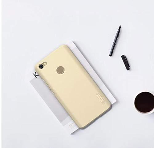 """Capa Protetora Para Xiaomi Redmi Note 5A Prime com Tela de 5.5"""" Polegadas Capinha Case Nillkin Frosted Shield Anti Impacto Proteção De Acrílico Rígido - Danet (Dourada)"""