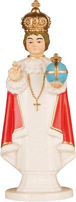 rosarybeads4u Infant Child of Prague 10cm Resin Plastic Statue Boxed 5515