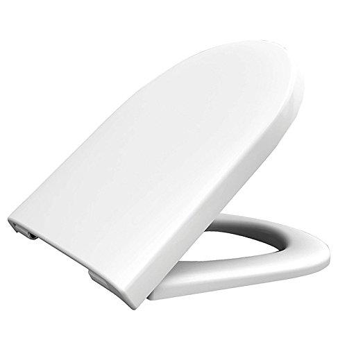 HARO WC-Sitz Tube Softclose Premium für TOTO NC (CW762Y) mit Absenkautomatik Weiss