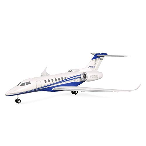 E-flite RC Airplane UMX Citation Longitude Twin 30mm EDF BNF Basic (Transmitter, Battery and Charger not Included) with Safe Select, EFLU6350