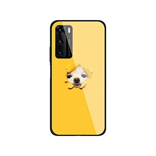 Linda pequeña caja del teléfono Hiromi para Huawei P30 lite 20 por P9 10 Mate 10 9 Honor 8 X 9 10 NOVA 5 vidrio templado-a4-para Huawei Honor 10