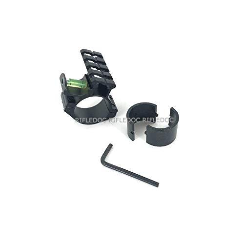 ZEITWISE Toprail 45mm mit Libelle Picatinny Rail Schiene für Zielfernrohre 25,4mm oder 30mm Rotpunkt Adapter