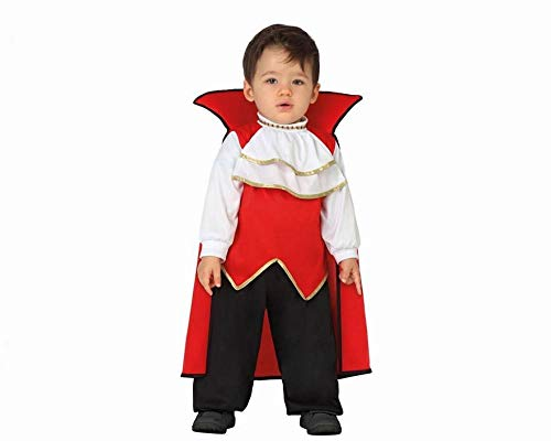 Atosa-26773 Atosa-26773-Costume Déguisement Vampire Rouge, Garçon, 26773, 12 à 24 mois