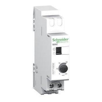 Schneider Electric CCT15232 Acti 9 MINs Minuteros, 18mm x 89mm x 66mm, Blanco: Amazon.es: Industria, empresas y ciencia