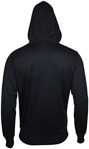 Ultra Game Men's Fleece Hoodie Pullover Sweatshirt Poly Midtown