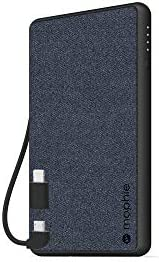 mophie PowerStation Plus Mini MFI Portable Charger 4000mAh Battery Pack with Built in Micro product image