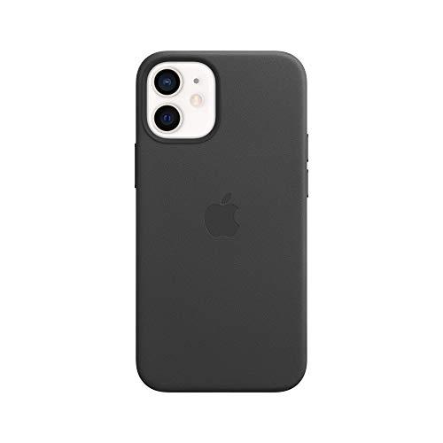 Apple Custodia in pelle (per iPhone 12 mini) - nero - 5.4 pollici