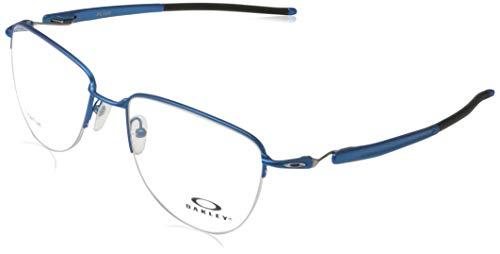 Ray-Ban Herren 0OX5142 Brillengestelle, Rot (Satin Azure Blue), 54