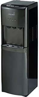 Primo Bottom Loading Hot/Cook/Cold Water Dispenser, Stainless Steel, Black