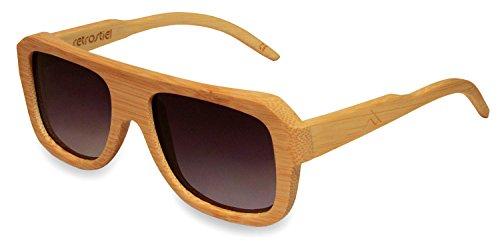 Gafas de sol de madera Aerialist Wheat