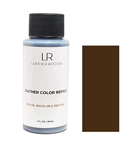 Leather Restore Leather Color Repair, Dark Brown 1 OZ - Repair,...
