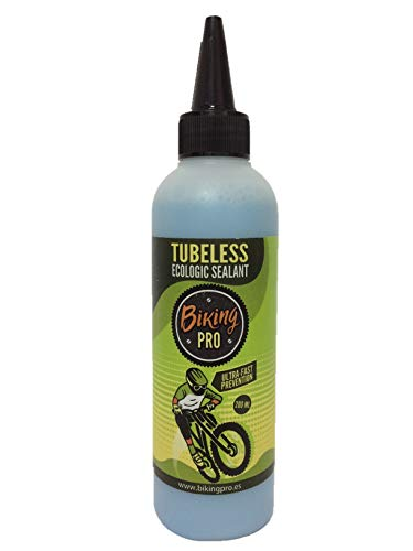 Biking Pro liquido tubeless 200 ML. Gama Ecologic