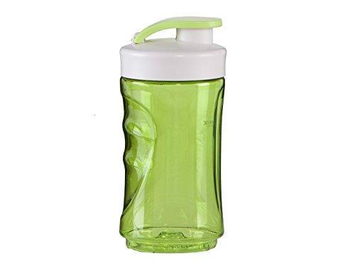 Domo do436bl-bk Kunststoff Flasche Grüne 7,5x 7,5x 16,5cm 300ml