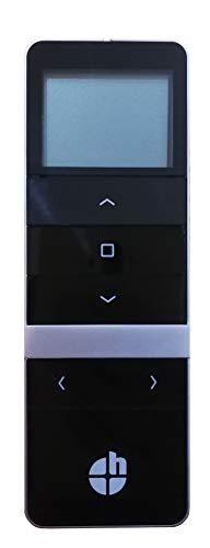 h Handfunksender/Fernbedienung/Handsender/Sender für heicko Funk-Motoren und Externe Empfänger (5-Kanal   schwarz   Funkprotokoll G2) (1 ST)