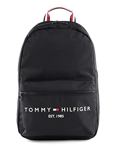 Tommy Hilfiger Th Established, Sac Dos Homme, Noir, Medium