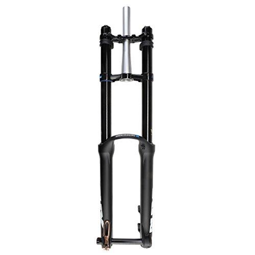 Suntour Unisex– Erwachsene SF16 RUX R2C2 QR Federgabel, Black, One Size