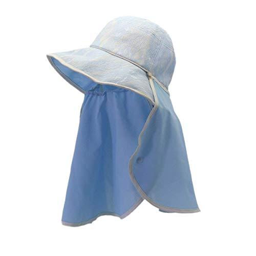 Damas Sombrero para El Sol Protección Sombrero Solar Verano Protector Bastante De...