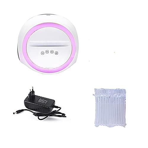 lámpara de uñas led Máquina de manicura 7 2W 36PCS / LED UV Lámpara de hielo para aceite de gel de secado 10/30/60/99S Temporizador Herramienta de inducción automática kit de esmalte de uñas de gel co