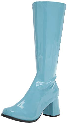 Ellie Shoes Women's Knee High Boot Fashion, Blue, 10