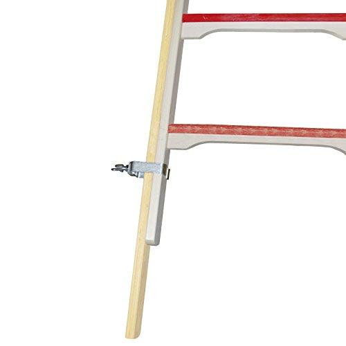 HYMER 0079640 Fußverlängerung für Holz-Sprossenstehleitern 7-1410+7-1490