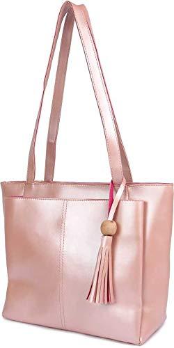 Don Cavalli Women's PU Leather Handbag (silver)