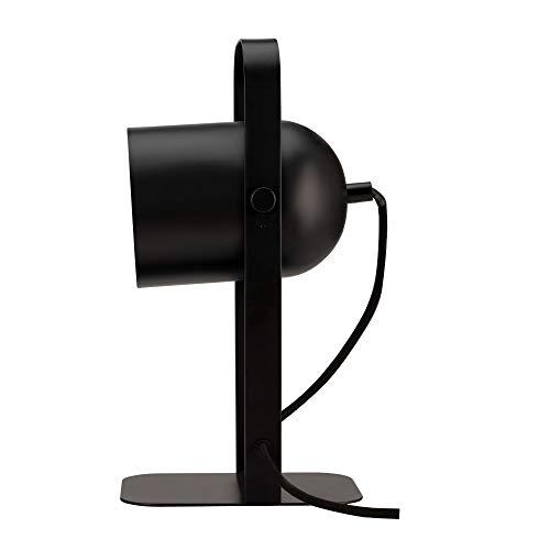 Pauleen True Crush 48152 - Lámpara de mesa (25 W, E14, metal, 230 V), color negro