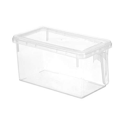 Zhi Zhi Stoccaggio di Chicchi Trasparenti della Cucina Deposito dei Fagioli contenente Le scatole di immagazzinatore del Contenitore del Cibo del Contenitore dell'organizzatore Domestico sigillato