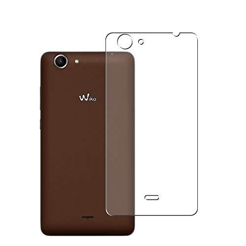 Vaxson 2 Stück Rückseite Schutzfolie, kompatibel mit Wiko Pulp Fab 4G 2015, Backcover Skin TPU Folie [nicht Panzerglas/nicht Front Bildschirmschutzfolie]