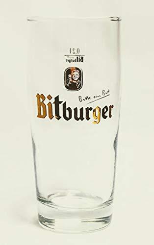 Bitburger 0,2l Glas/Bierglas/Biergläser/Gläser/Bier/Gastro/Bar/Sammler/Sammel / 6er Set