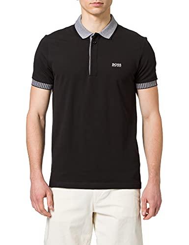 BOSS Paule 2 10196402 01 Camisa de Polo, Negro 001, M para...