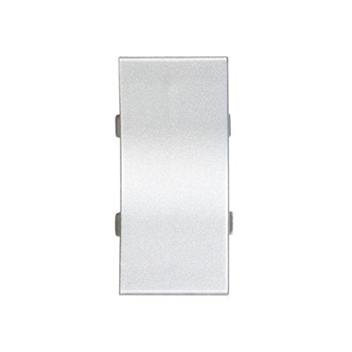 HOLZBRINK Perfil de unión: de PVC a juego con el copete de encimera aluminio plata 23x23 mm